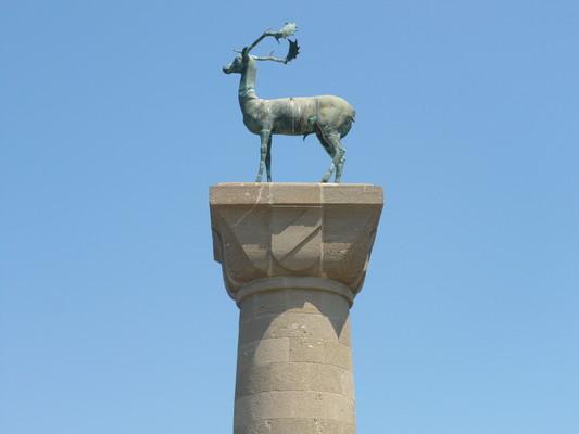 Rhodes Town, Rhodes, Rhodes Island Ελάφι της Ρόδου  Rhodes - by JOHN