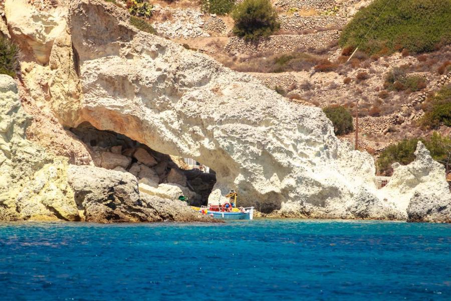 Kimolos Island Fisherman's spot    - by adampao