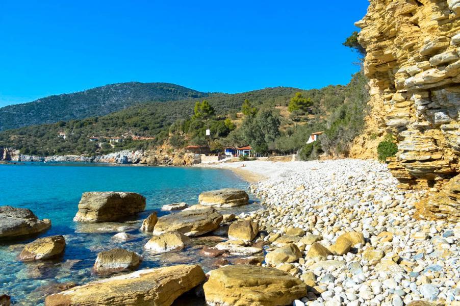 Alonnisos Island Megalos Mourtias beach  Photo by Vasilis Drosakis