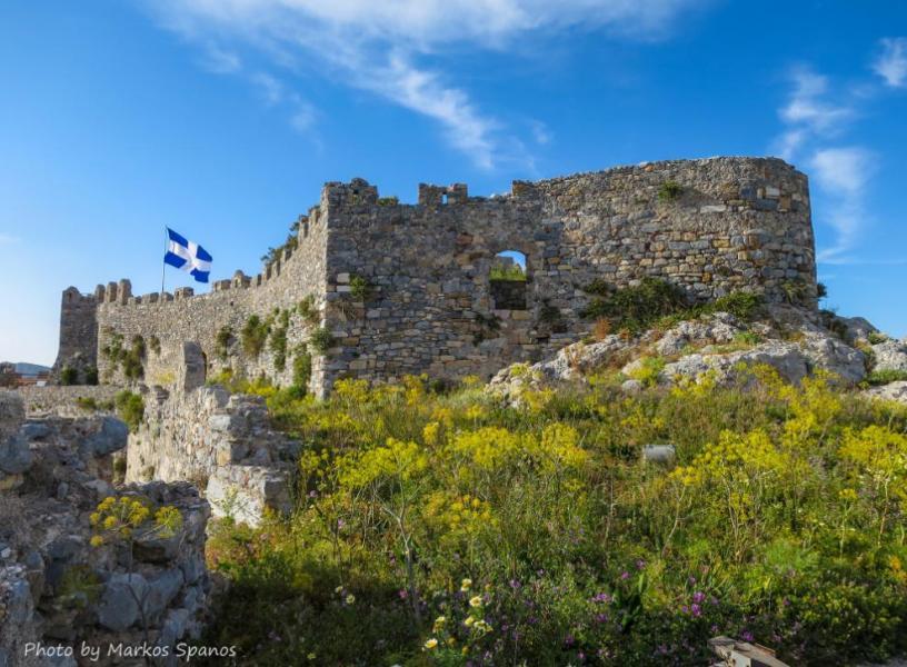 Leros Island Castle of Panteli  Photo by: Markos Spanos, Municipality of Leros