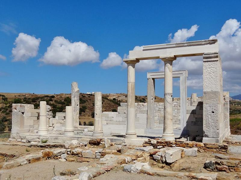 Naxos Island Temple of Demeter  Photo by: Olaf Tausch commons.wikimedia.org