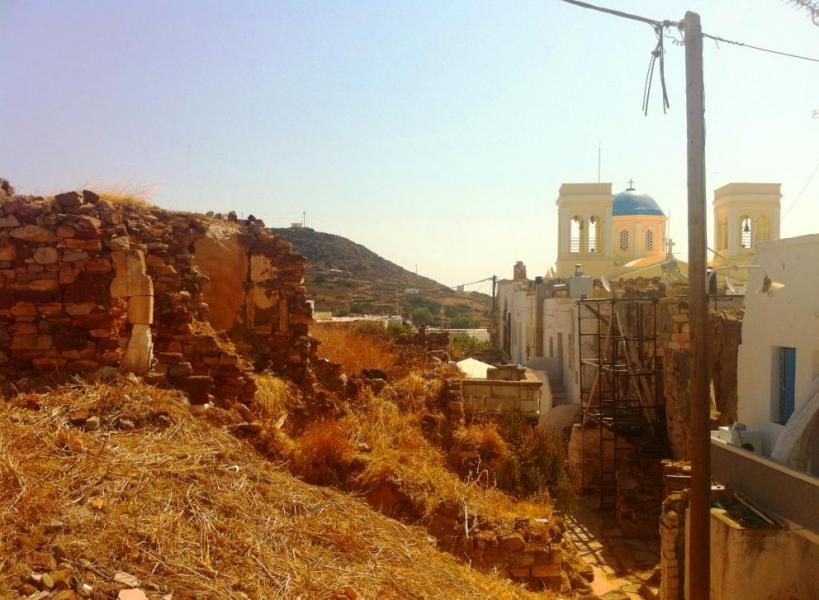 Kimolos Town, Kimolos,