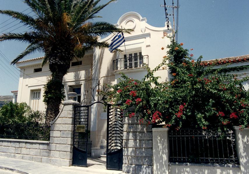 Andros Island Kairios Library  photo by www.kaireios.gr