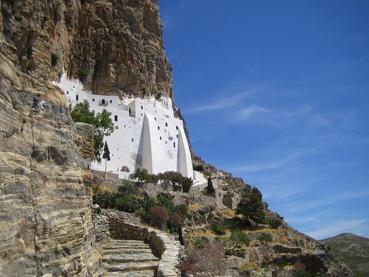 Kerasochori, Agrafa, Evrytania Panagia Chozoviotissa Monastery  photo by Teddy, wikipedia.org