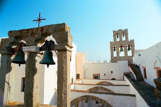 Patmos Chora, Patmos, Patmos Island Agios Theologos monastery  Photo by Giannis Paschalidis