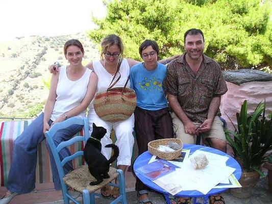 Agia Paraskevi, Ziros, Preveza kea  center   maria tassos  vivi  zakelin  and the cat  - by  Maria Kassiani