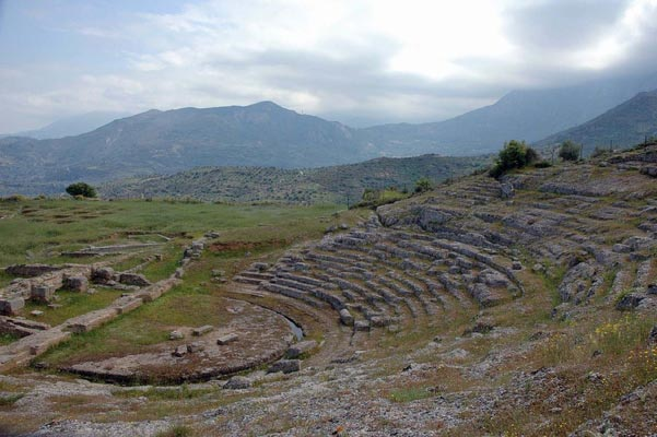 Thanaseika, Arta, Arta Ancient Theater in Aigeira  photo by Heinz Schmitz, wikipedia.org