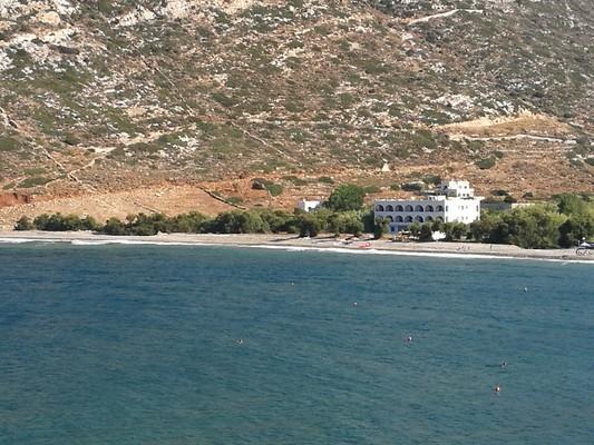 Platy, Alexandria, Imathia Large beach apollonas  Pebly beach Naxos apollonas - by baculas2