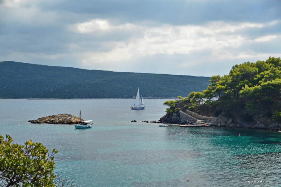 Alonnisos Island Agios Petros beach  Photo by Vasilis Drosakis