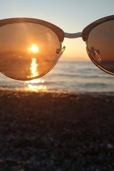 Skopelos Island Hi  Sunglasses - by Νικος
