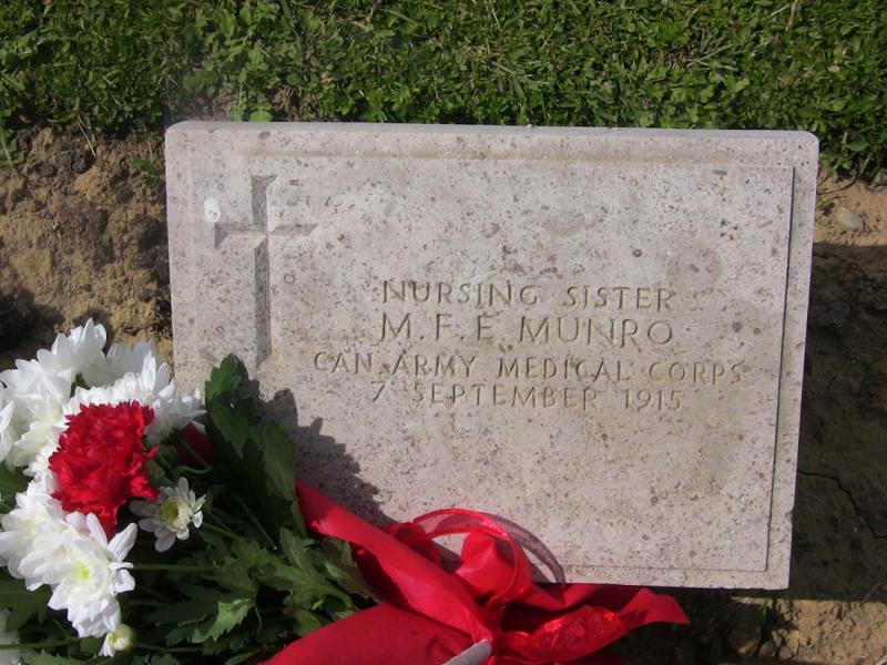 Kalivia, Karistos, Euboea Munro grave