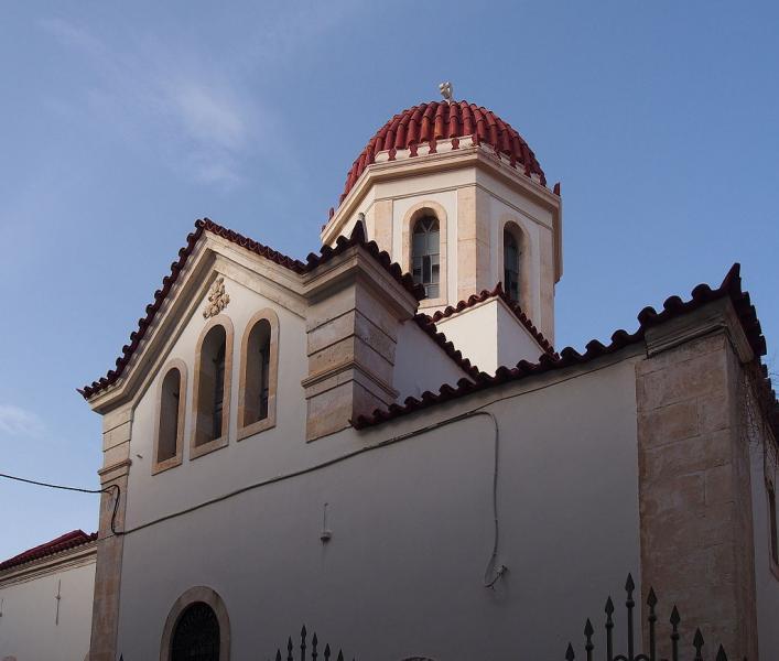 Agios Nikolaos, Veria, Imathia Agia Varvara Church  Photo by: C messier commons.wikimedia.org