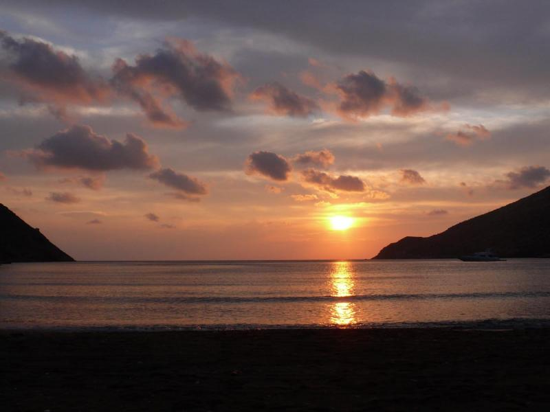 Sifnos Island Sunset at Kamares