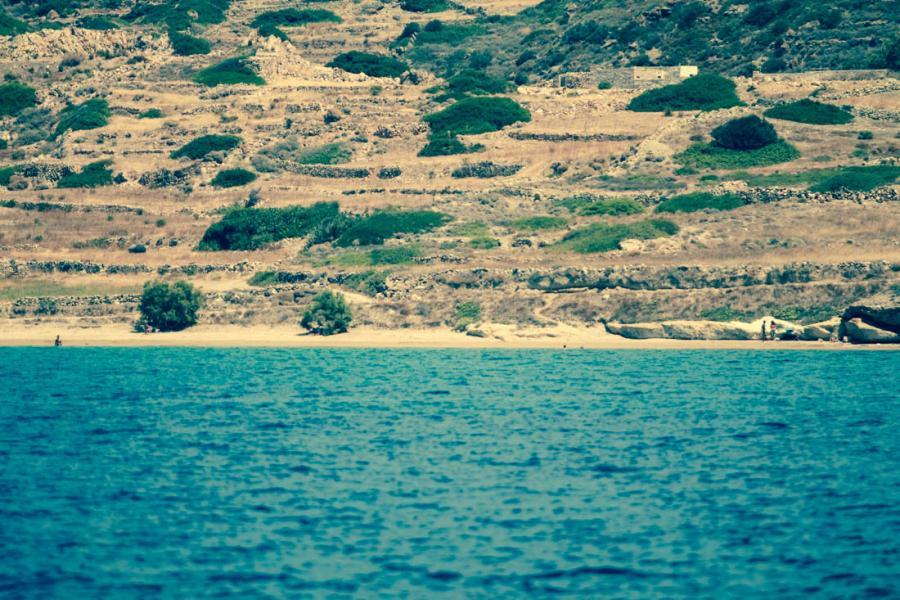 Kimolos Island Mavrospilia beach    - by adampao