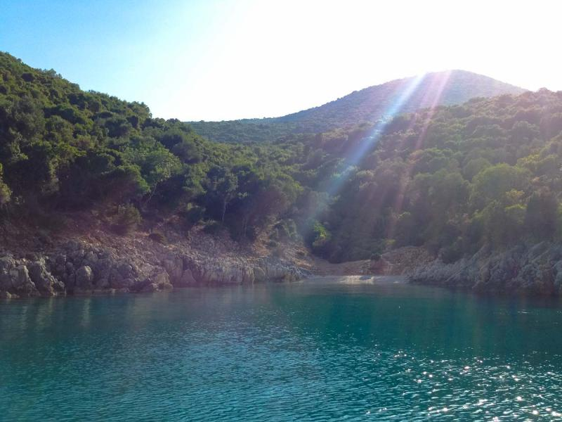 One of the beaches in 3 Ammoudia bay. - by adampao
