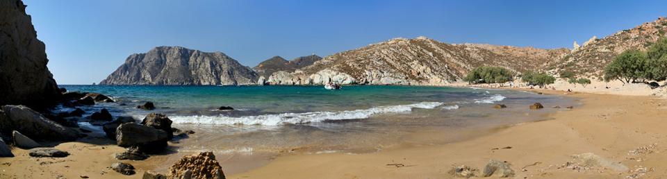 Patmos Island Psili Ammos Beach  photo by www.patmos.gr
