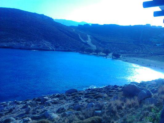 Kinigiana, Mylopotamos, Rethymno Serifos Island  The beach of Agios Sostis - by John21