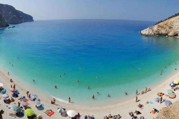 Vracha, Karpenisi, Evrytania Lefkada Island  Porto Katsiki Beach - by Kiriakos