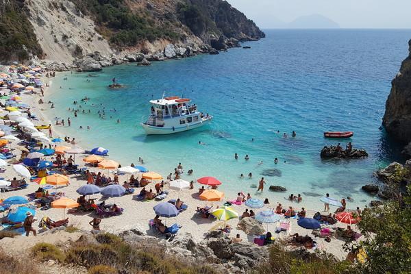 Agios Prodromos, Poligiros, Halkidiki Lefkada - Vasiliki  Agiofili Beach - by Kiriakos