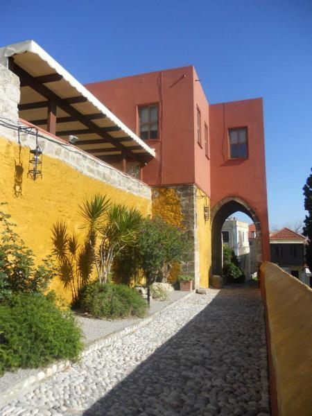 Rhodes Town, Rhodes, Rhodes Island Κάτι από Μαρόκο  Μεσαιωνική Πόλη