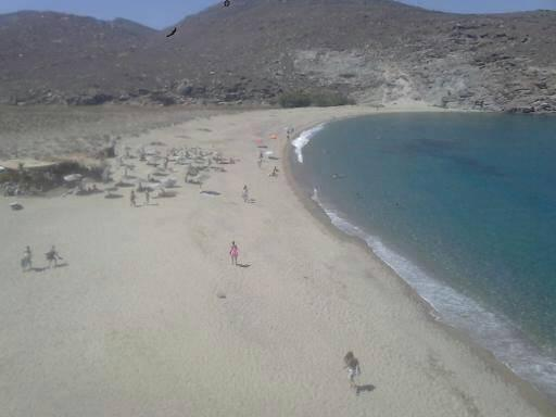 Mesi, Rethymno, Rethymno colymnithra beach  view of colymbithra beach tinos island - by κκ