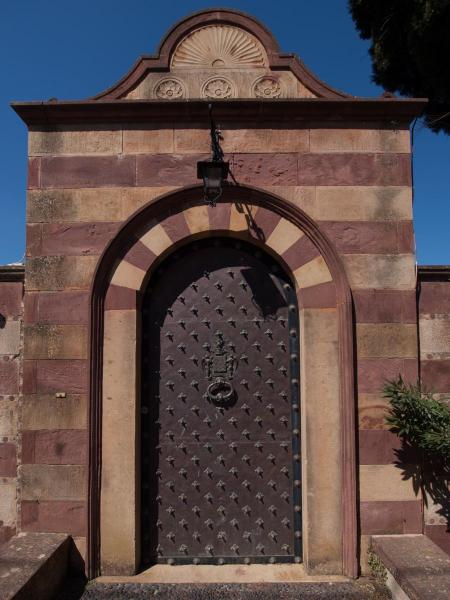 Chios Island Impressive door at Kampos estate  Michael Tetteris / Chios Tourism Department