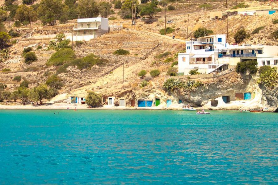 Kimolos Island Rema beach    - by adampao