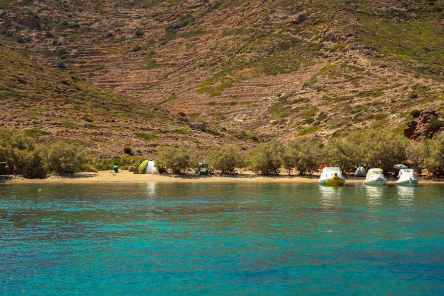 Kimolos Island Soufi beach    - by adampao