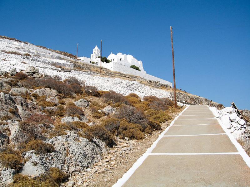 Folegandros Chora, Folegandros, Folegandros Island Panaghia Church