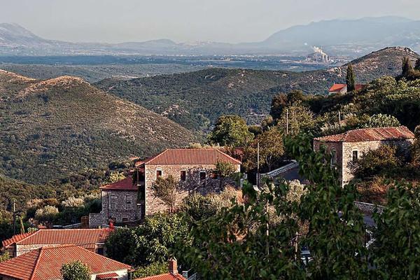 Atsicholos, Megalopolis, Arcadia Atsicholos  View towards Megalopoli - by Stavros