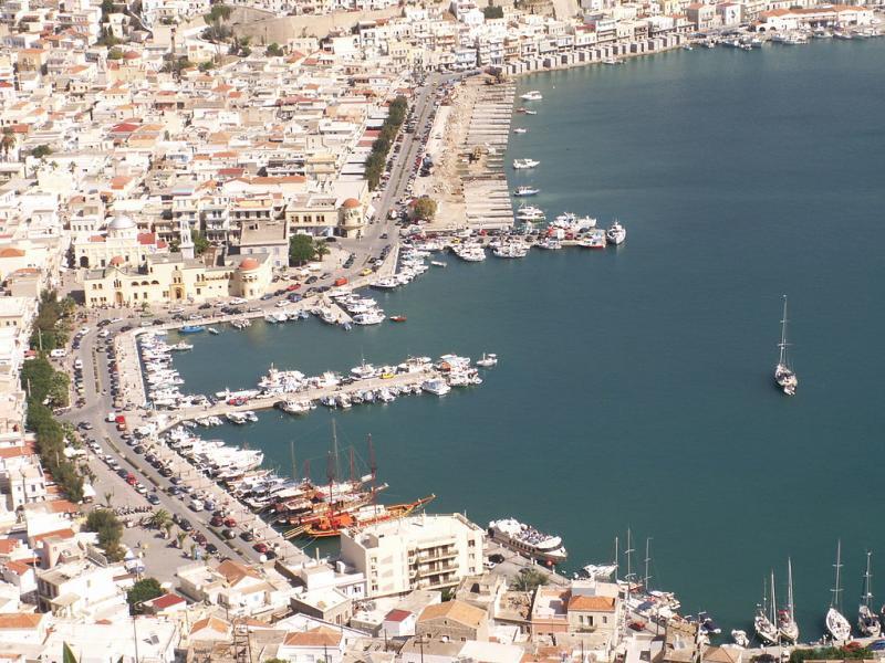 Kalymnos - Pothia, Kalymnos, Kalymnos Island Pothia Kalymnos Town Port