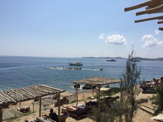 Scorpios Beach  Mykonos Island