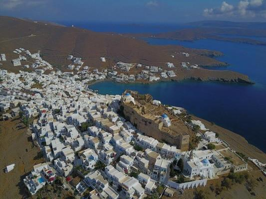 Astypalaia Chora, Astypalaia, Astypalaia Island Chora of Astypalaia from above  photo by Aris Cost
