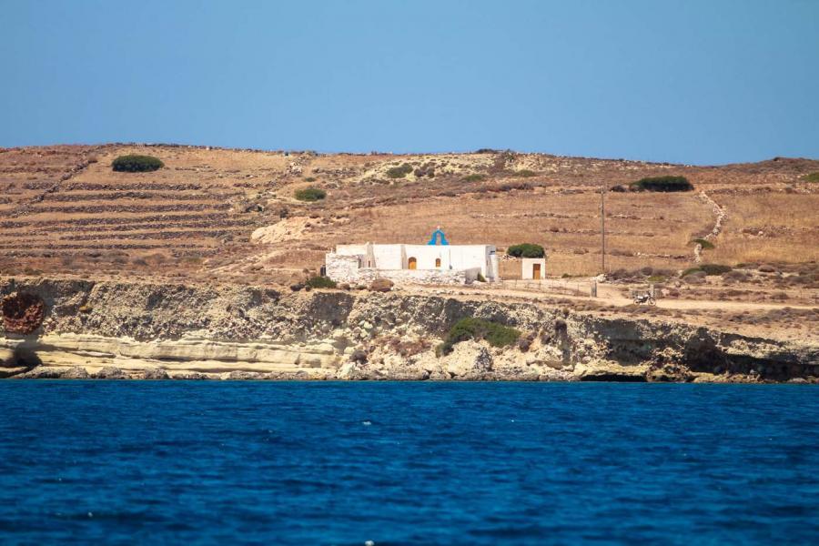 Kimolos Island Agios Georgios church