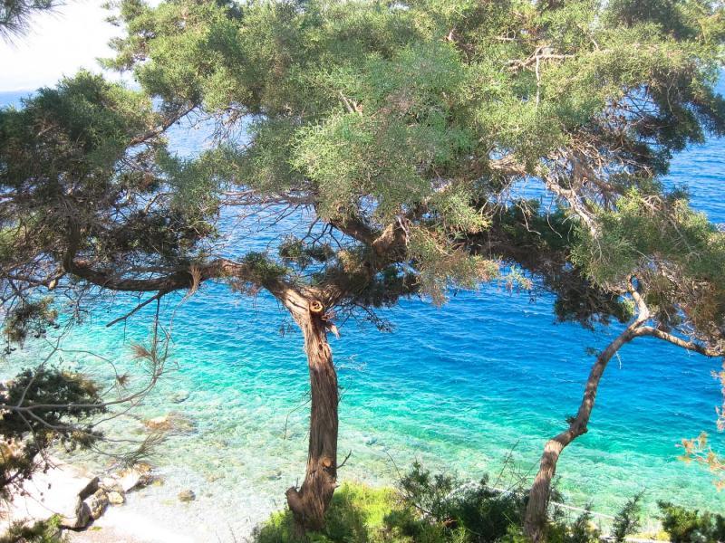Hydra Island Shades of blue