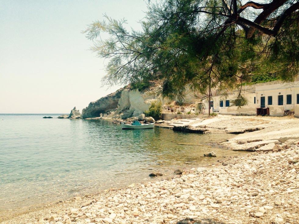 Kimolos Island Rema beach  - - by adampao