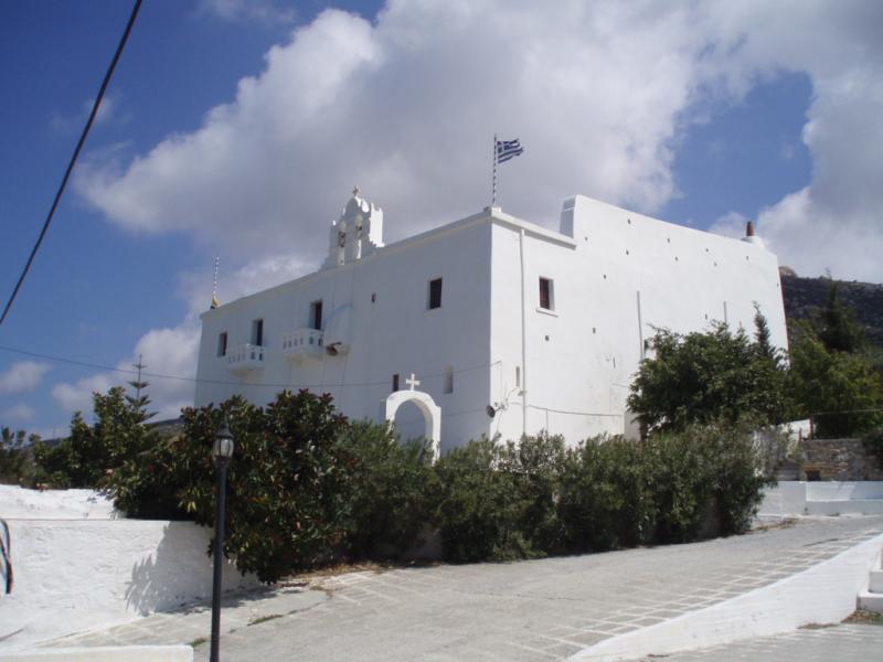 Naxos Island Faneromeni Monastery  Photo by: Templar52 commons.wikimedia.org