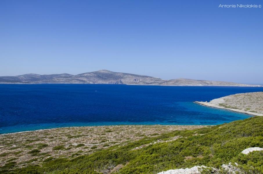 Astypalaia Island View from Koutsomytis Beach  photo by Antonis Nikolakis