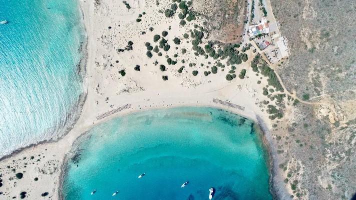 Agios Nikolaos, Paros, Paros Island Mikros Simos Beach  photo by Petros Fatouros