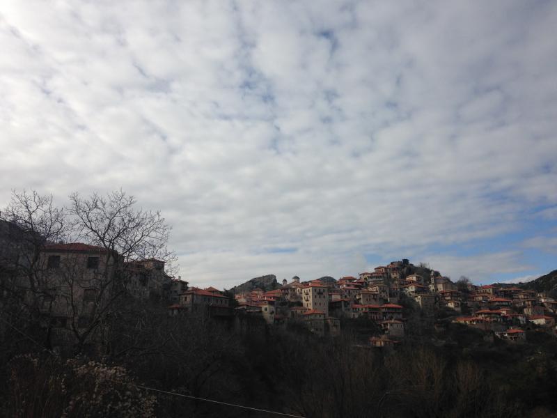 Zatouna, Gortynia, Arcadia Dimitsana  Panoramic view of Dimitsana - by Sot