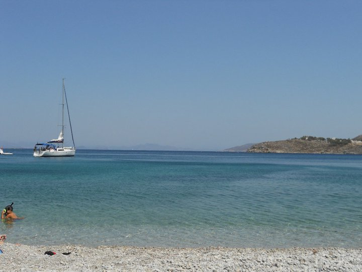 Kalymnos Island Akti beach  Photo by Anna Makarouna