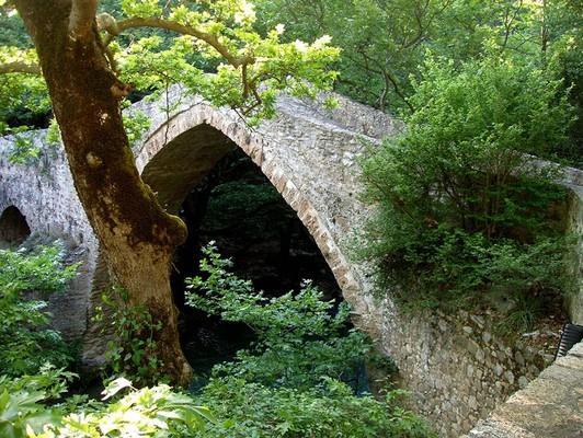 Pigadi Leonidiou, Notia Kinouria, Arcadia Atsicholos  Atsicholos Bridge - by Stavros