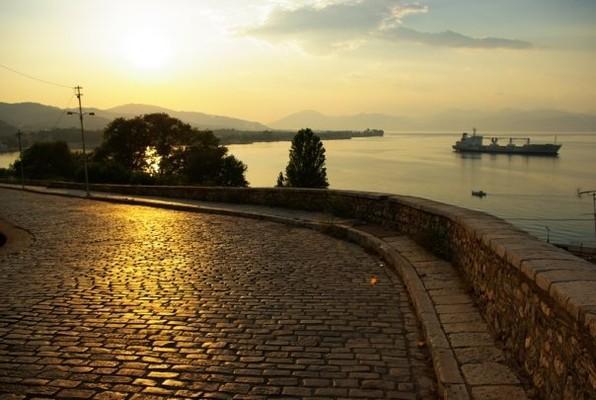 Aigio, Aigialeia, Achaea Aigio  Aigio waterfront - by giorgossssss