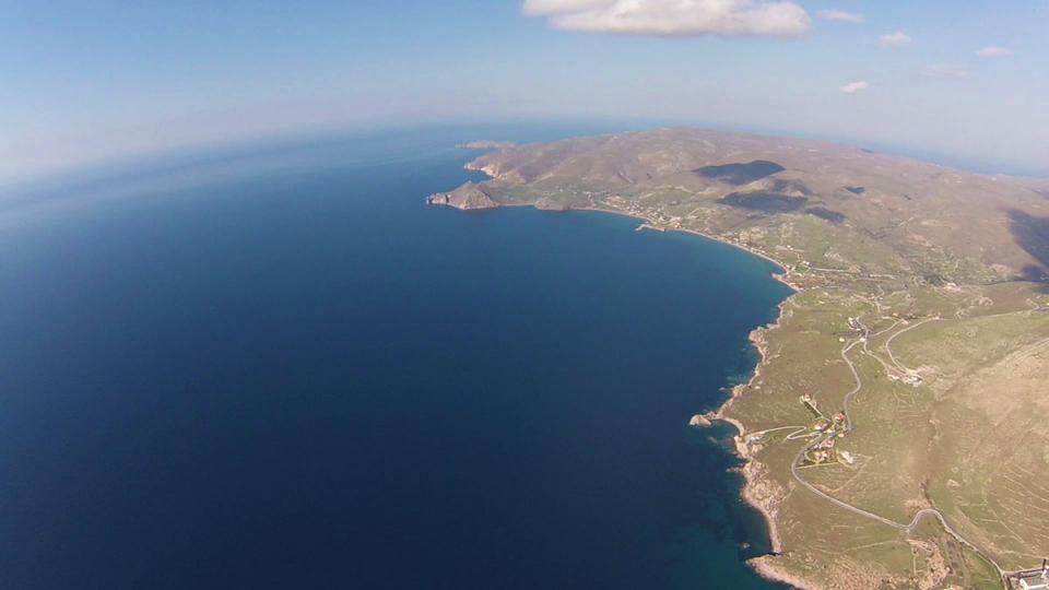 Kaspakas, Lemnos<br>Photo by Joy Aerials www.facebook.com/aerophotojoy