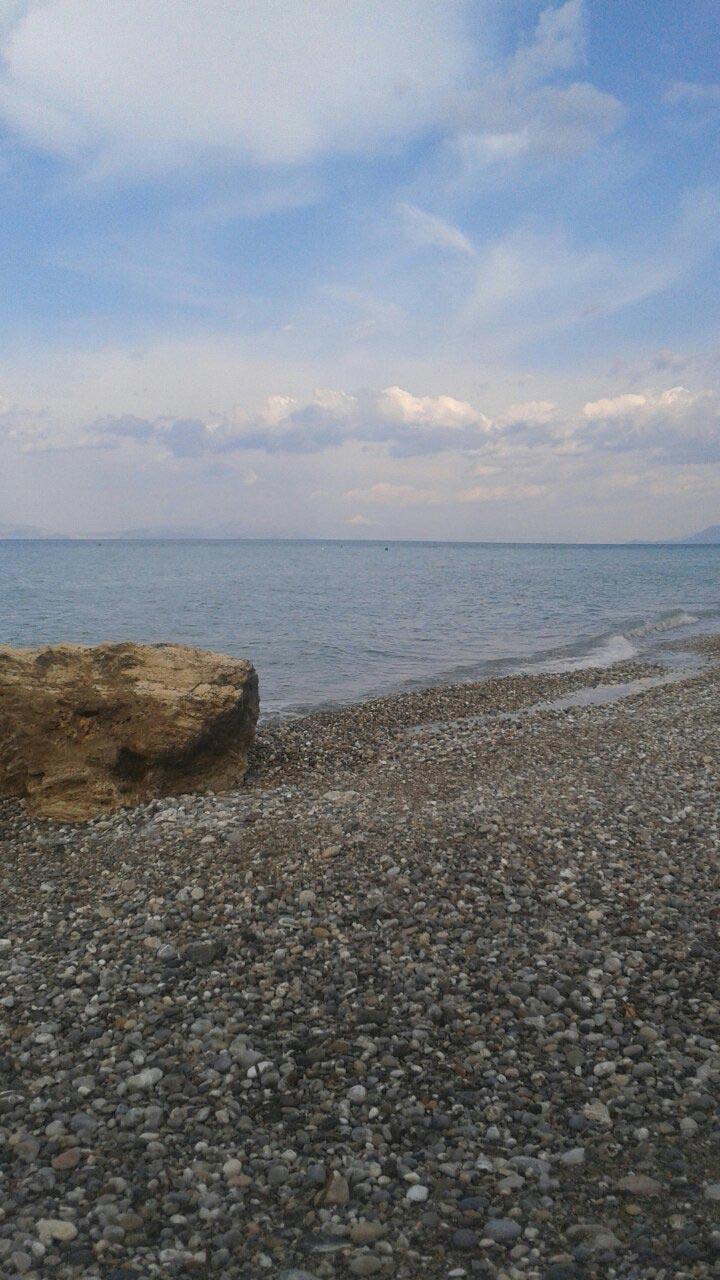 παραλία καμάρι #now - by Andreas