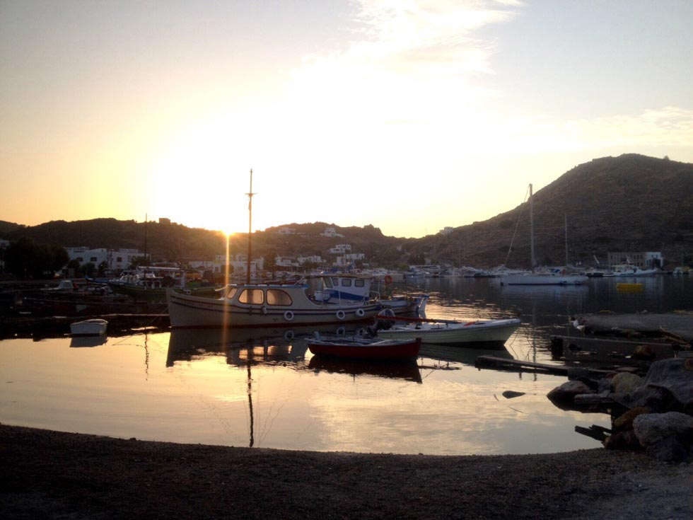 Skala, Patmos, Patmos Island Skala  early morning