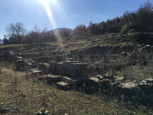 Archaeological Site of Feneos - by konhat