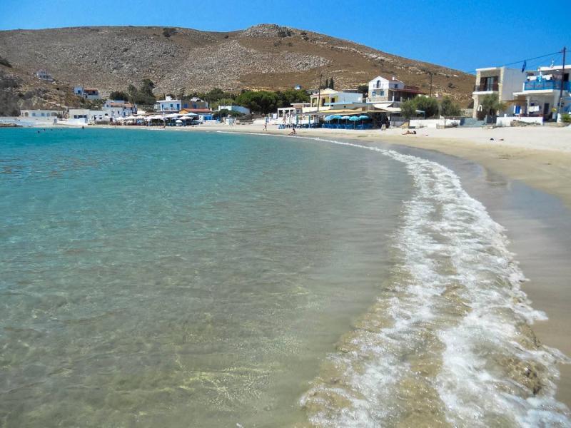 Rethymno Pserimos beach  Pserimos island