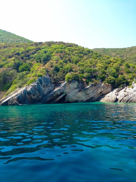 Ithaca Island Talaros beach