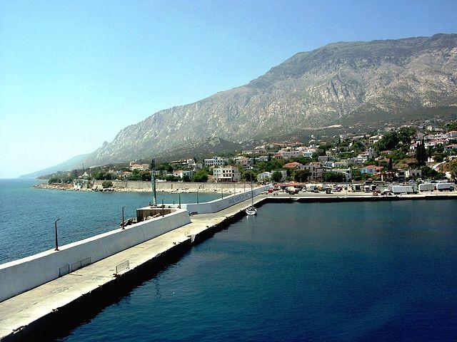 Agios Kirikos, Ikaria, Ikaria Island Agios Kirikos  photo by user kalimera05 wikimedia.org